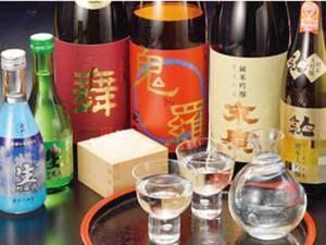 【地酒3種飲み比べ/例】宿お任せ!福島の地酒を飲み比べ!
