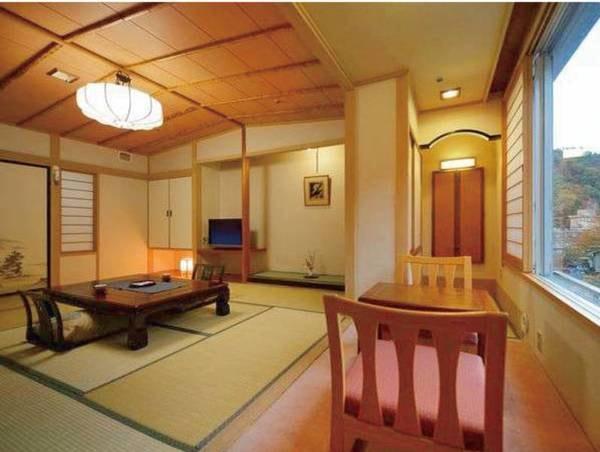 【本館和室/例】気軽な滞在にぴったり!10畳+広縁付の本館和室