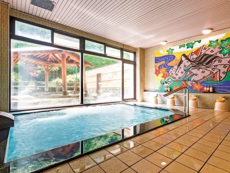 【大浴場・男性】ラジウム泉を満喫