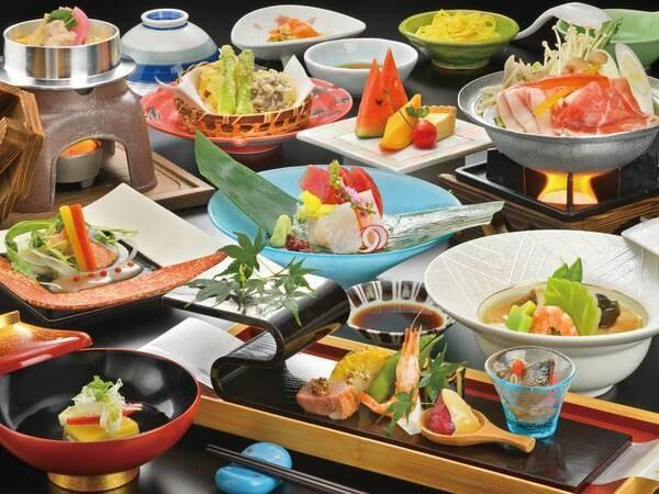 【スタンダード会席】一番人気プラン!郷菜から始まり彩り豊かな旬の会席をお楽しみいただける