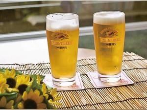 【生ビール2杯/例】お風呂上がりのおともに!