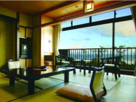 【海側和室/例】太平洋を望む海側客室を確約!海側和室プランで要予約