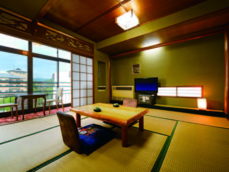 【和室(本館・10畳)/例】フロント・食事会場と同じ本館にあるお部屋