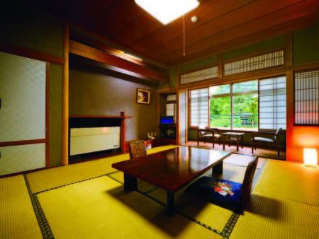 【川側和室(別館・10畳)/例】大浴場と同じ別館にあるお部屋
