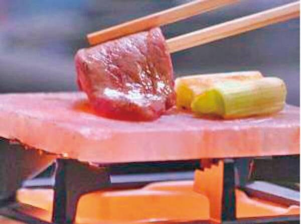 のど黒と霜降り和牛ステーキ