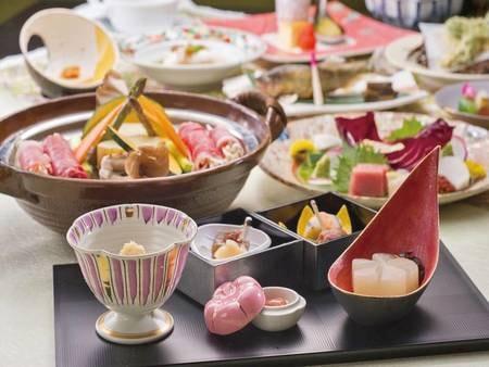 【スタンダードプラン「季節のお任せ会席」夕食/例】