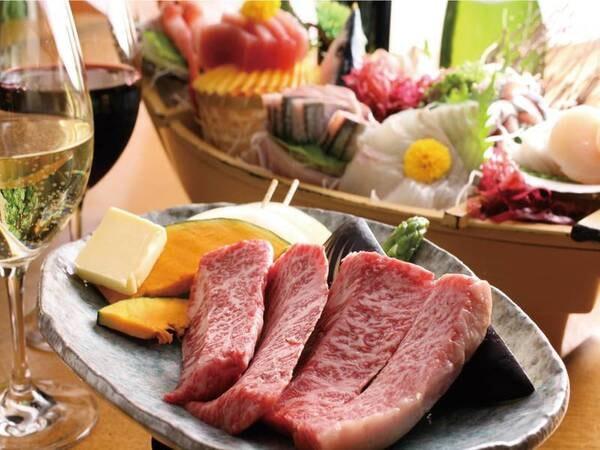 人気!舟盛り・常陸牛・煮魚プラン/例
