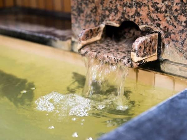【温泉】刺激が少ない優しい湯で、お子様から高齢者まで皆さまにおすすめ