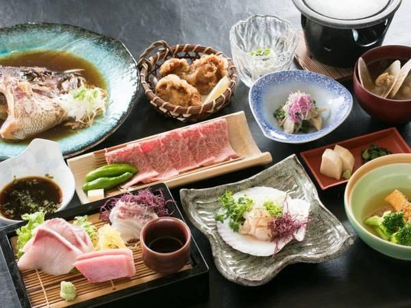 【夕食/例】旬の食材を取り入れた和会席