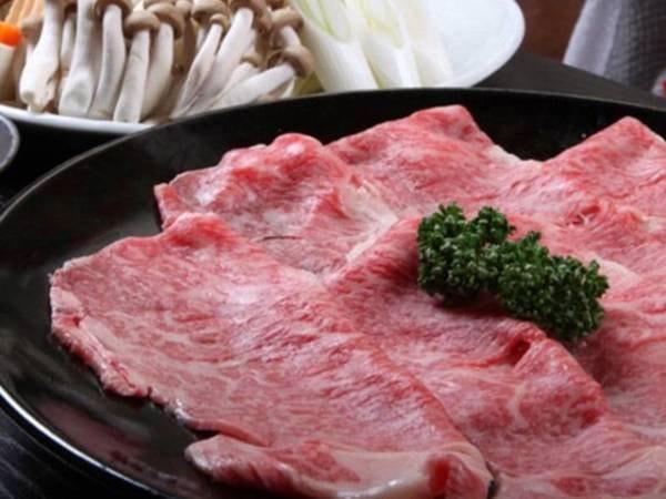 常陸牛すき焼き/一例