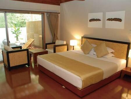 【客室ベッド/例】各部屋異なるインテリアで何度宿泊しても楽しめる