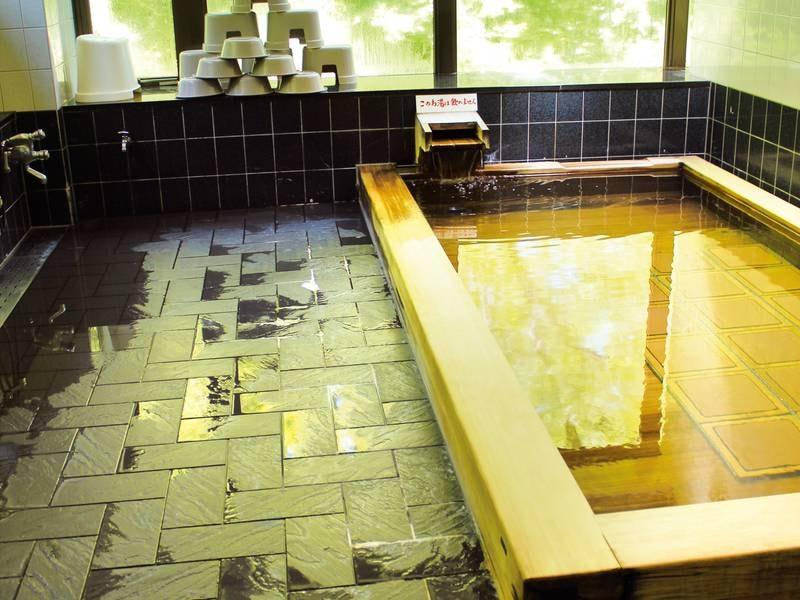 【男性大浴場】24時間入浴可能
