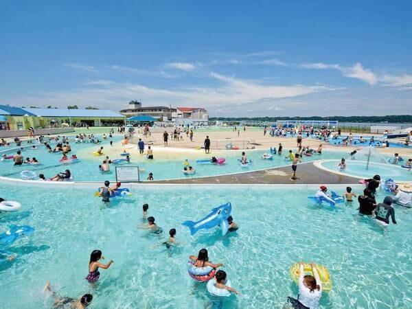 【わんぱくプール】宿泊の当日・翌日はプールの入場料が無料