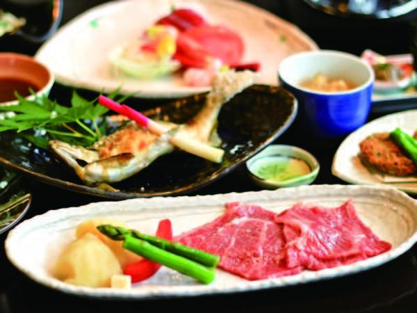 【常陸牛or奥久慈しゃも会席/例】選べる料理が嬉しいプラン