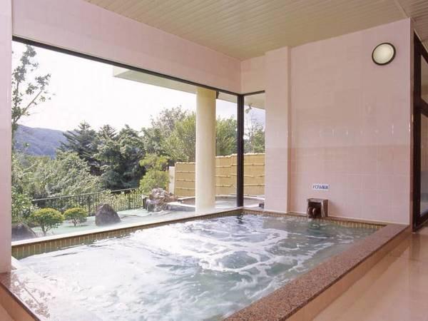 【大浴場/別館つくば湯】宿泊社は管内・別館つくば湯を利用可能