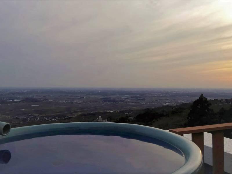 本館展望貸切風呂「地平線」