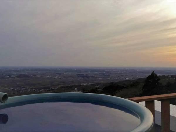【彩香の宿 一望】★隣接する日帰り温泉つくば湯を無料で利用可★ さらに、関東平野側無料グレードアッププランあり♪
