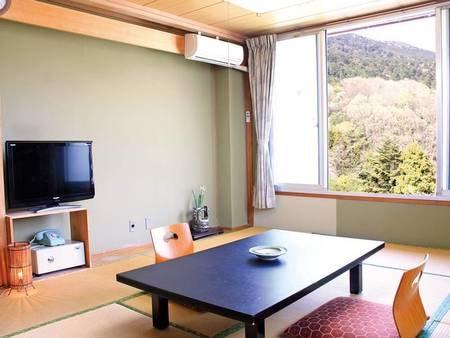 筑波山と自然を望む和室10畳トイレ付/一例