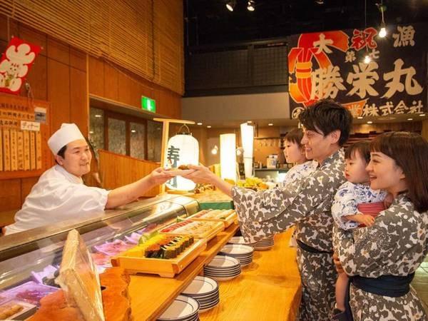 和風海鮮バイキング/職人が握ったお寿司も食べ放題!