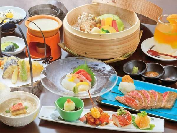 【特選/創作料理】メインは福島牛のステーキで、旅は食事重視な方におすすめ