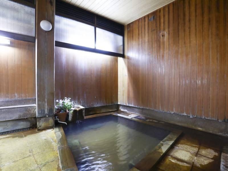 男性(内湯)/泉質が良く、何度でも入りたいお風呂です