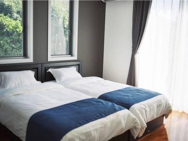 【洋室2/例】5~8名様ご利用時は洋室を2つご用意。お好きなお部屋でお休みください