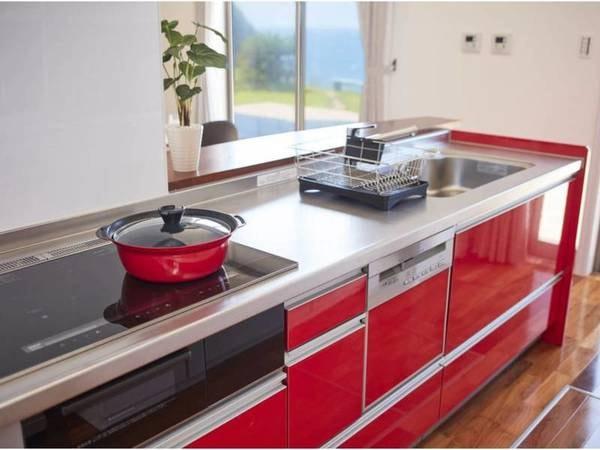 【ダイニングキッチン/例】各種キッチン家電や料理道具などをご自由にお使いください