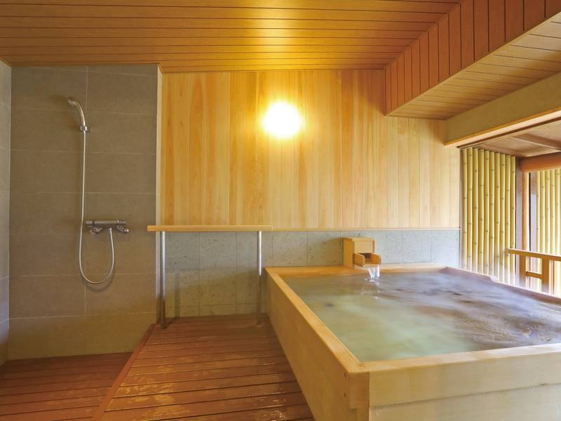 【無料貸切風呂】檜葉の湯