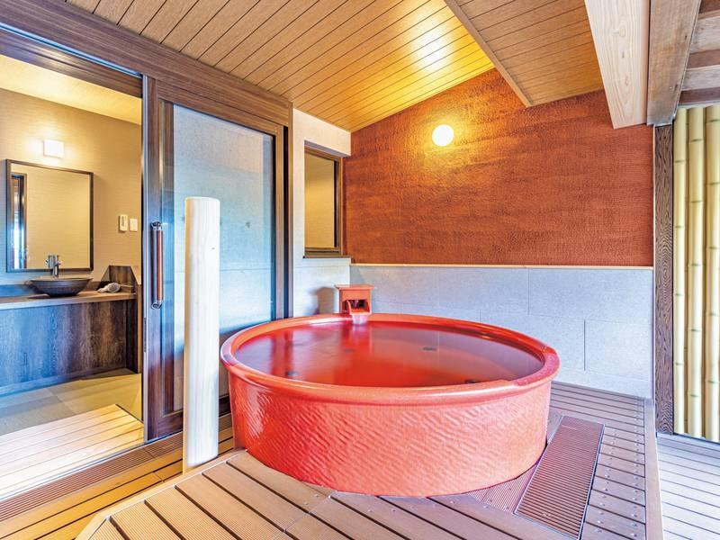 【無料貸切風呂】朱壷の湯
