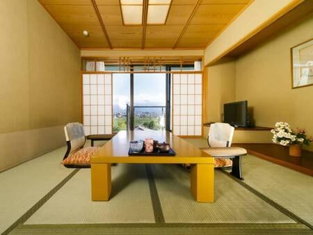 【離れ】温泉檜風呂付標準和室/一例