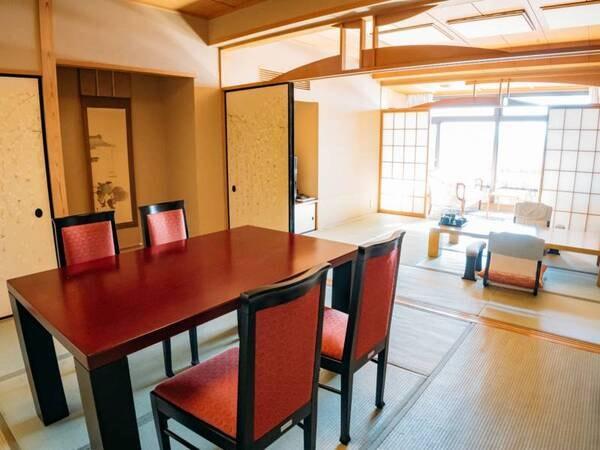 【離れ】温泉檜風呂付特別和室/一例