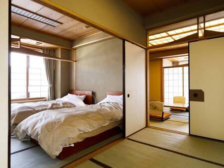 【離れ】温泉檜風呂付特別和洋室/一例