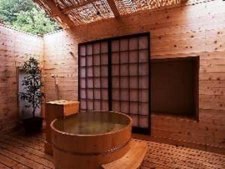 樽の客室露天風呂/一例