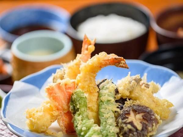 天ぷら定食(夕食のみ)/一例