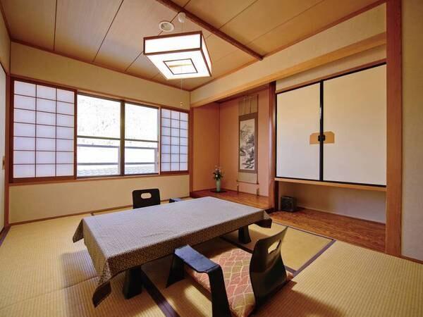 本館2階・和室二間(6畳+8畳)[禁煙]/一例