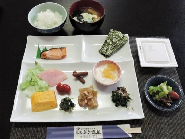 *朝食一例/シンプルで体にやさしい和朝食をご用意いたします。