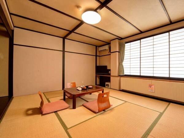 *【和室10畳一例】シンプルで快適な和室タイプ。ファミリー、グループにお勧め!