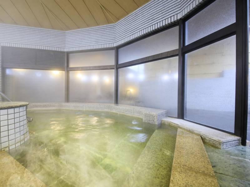 【大浴場】大洗温泉のあたたかな湯が、旅の疲れを癒してくれる