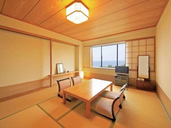 【海側セミスイート(最上階68㎡)一例】ベッドルームと和室が分かれており、3世代旅行にもおすすめ!