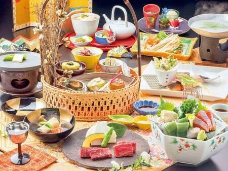 【木心亭】渾身の美食プラン/一例