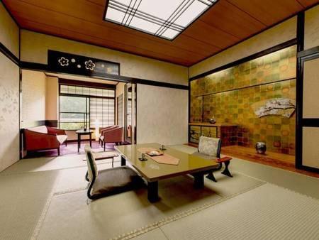 【木の館-スタンダード客室-/例】古き良き和の趣きを感じさせる佇まい――。