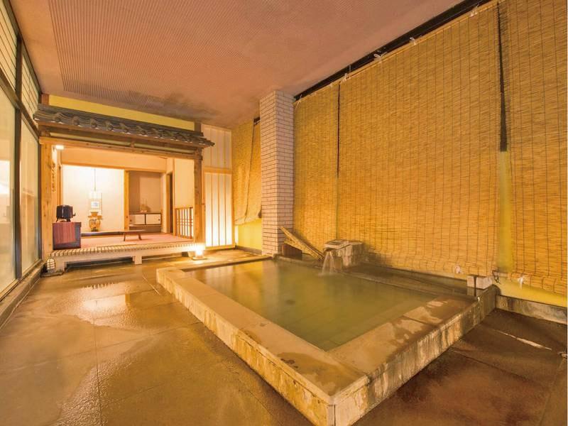 【茶室風呂「寂びの湯」】日本情緒漂う茶室をもった浴場