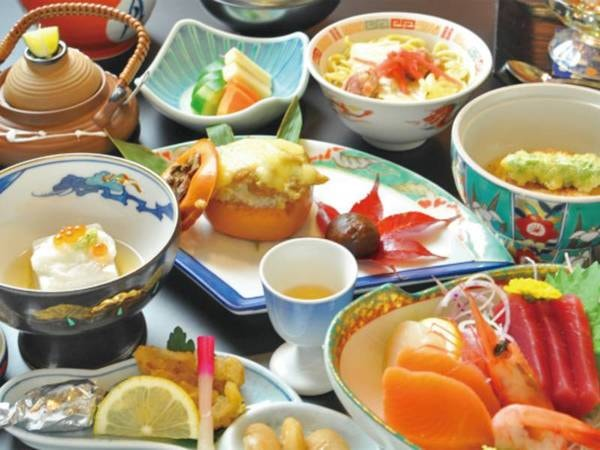 【雲海鍋と創作料理/例】
