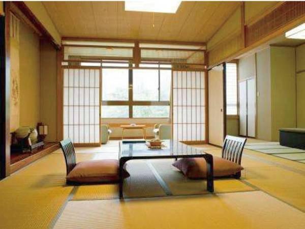 和室12畳+8畳(渓谷沿いの客室)/一例