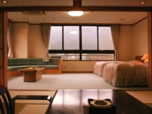 特別室:和室12畳+洋室/渓谷沿い/一例