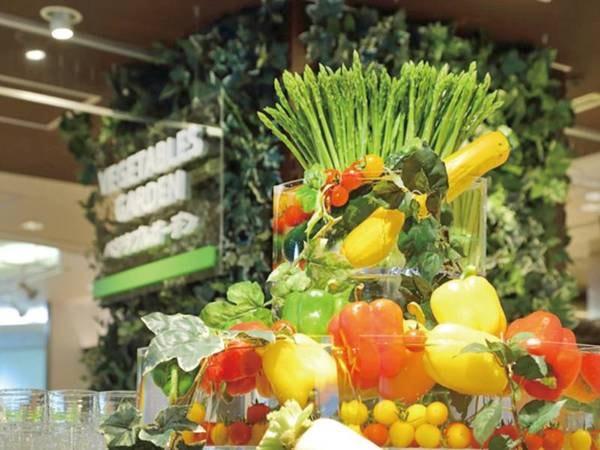 【バイキング/例】旬の野菜盛りだくさん!ベジタブルガーデン