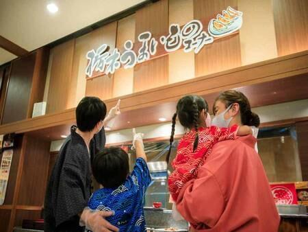 *【夕食バイキング(一例)】地産料理が楽しめる「栃木県産品コーナー」も新設♪