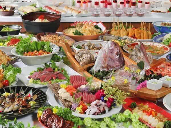 【全70種★和洋中スペシャルバイキング/例】和洋中、人気の味わいが勢ぞろい!