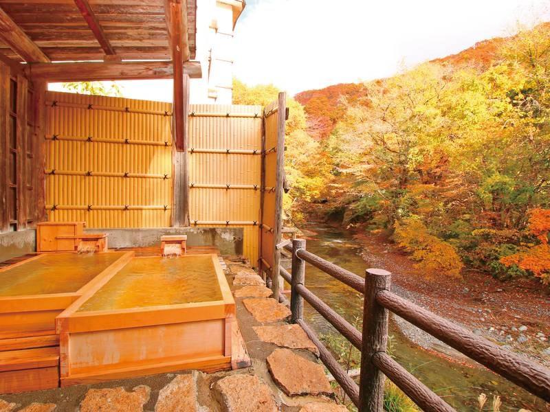 【無料貸切風呂】檜の湯(秋)