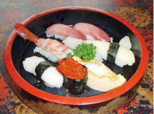 寿司屋の【握り鮨】/一例